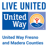 United Way of Fresno and Madera Counties logo and link